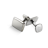 M-Clip__Brushed_Stainless_Tapered_Rectangle_Cufflinks