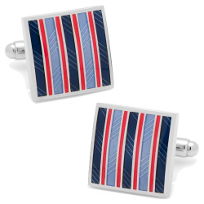 Red_&_Navy_Striped_Square_Cufflinks