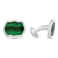 Stephen_Webster_Sterling_Silver_Malachite_Thorn_Cufflinks