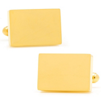 Stainless_Steel_Gold_Block_Cufflinks