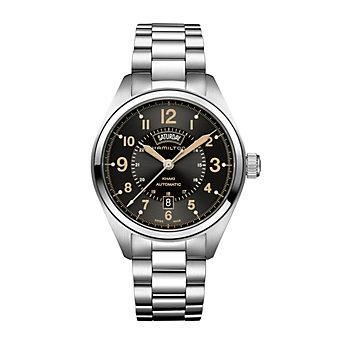 Hamilton Khaki Field Day Date Auto Stainless Watch