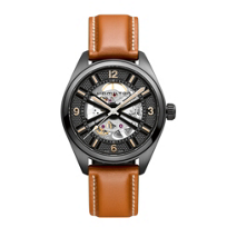 Hamilton_Khaki_Field_Skeleton_Brown_Strap_Auto_Watch