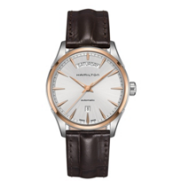 Hamilton_Jazzmaster_Day_Date_Auto_with_Brown_Leather_Strap