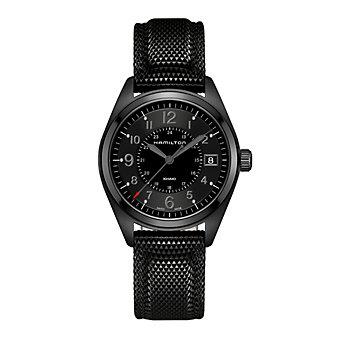 Hamilton Khaki Field Quartz Black Watch
