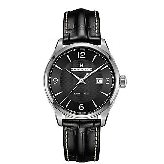 Hamilton Jazzmaster Viewmatic Auto Watch in Black