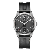 Hamilton_Broadway_Day_Date_Auto_Watch_with_Grey_Face_&_Black_Leather_Strap