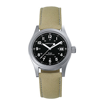 Hamilton Khaki Field Officer Handwinding Watch with Canvas Strap
