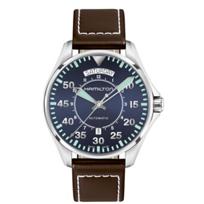hamilton_khaki_aviation_pilot_day_date_auto_men's_watch,_stainless_steel_&_leather