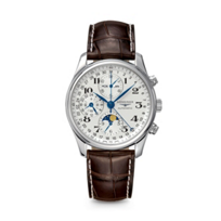 Longines_Master_Collection_Leather_Chronograph_Watch,_3_Subdials