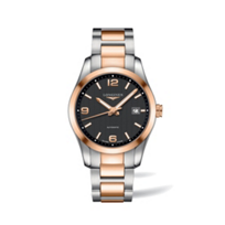 Longines_Conquest_Classic_Two-Tone_Black_Dial_Watch
