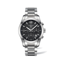 Longines_Conquest_Classic_Stainless_Steel_Black_Dial_Chronograph_Watch