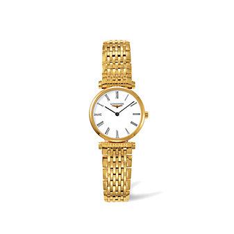 Longines La Grande Classique Yellow Roman Watch