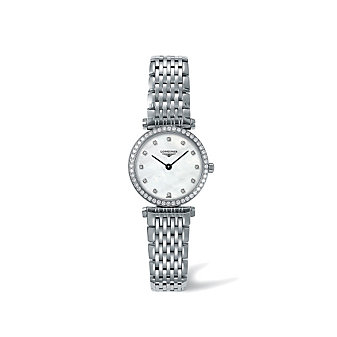 Longines La Grande Classique Mother-of-Pearl Dial Diamond Watch