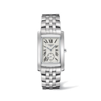 Longines_DolceVita_Stainless_Steel_Roman_Watch