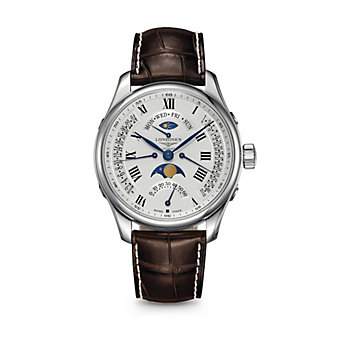 Longines Master Collection Automatic Watch with Moon Phase