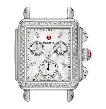Michele Signature Deco Diamond, Diamond Dial