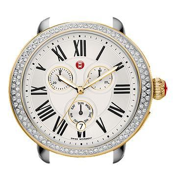 Michele Serein Diamond Two-Tone Gold