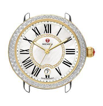 Michele Serein 16 Two-Tone Diamond, Diamond Dial