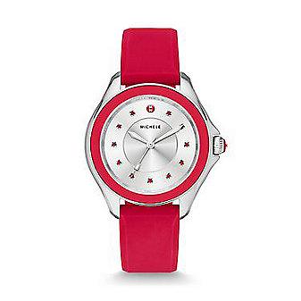 Michele Cape Topaz Red Watch