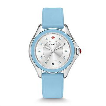 Michele Cape Topaz Sky Blue Watch