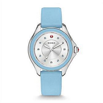 Michele Cape Topaz Sky Blue Watch