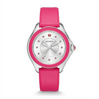 Michele_Cape_Topaz_Hot_Pink_Watch