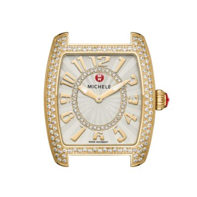 Michele Urban Mini Gold Diamond Watch Head