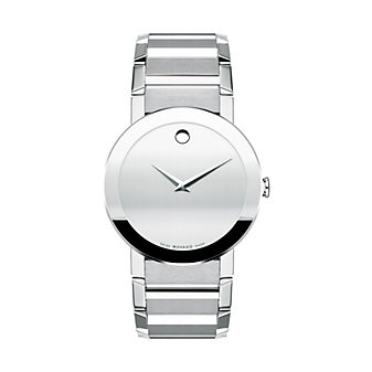 Movado Men's Sapphire 38MM Stainless Steel Watch