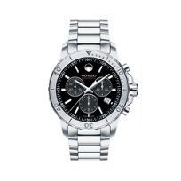 Movado_Series_800_Men's_Chronograph_Bracelet_Watch,_Black_Dial