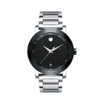 Movado_Museum_Men's_Sport_Stainless_Steel_Bracelet_Watch,_Black_Dial