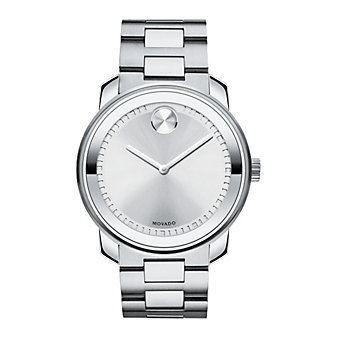 Movado Bold Large Stainless Steel Watch