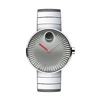 Movado Edge 40MM Polished Stainless Steel Watch