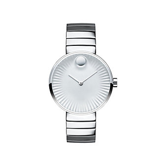 Movado Edge 34MM Polished Stainless Steel Watch