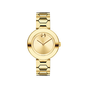 Movado Bold 32MM Yellow Gold Ion-Plated Stainless Steel Watch