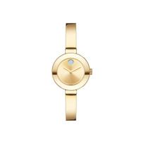 Movado_Small_Bold_Yellow_Gold-Tone_Women's_Bangle_Watch