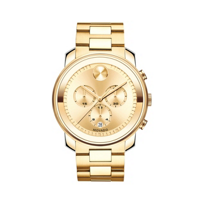 Movado_Bold_Chronograph_Yellow_Gold-Tone_3-Subdial_Men's_Watch