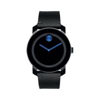 Movado_TR90_Bold_Cobalt_&_Black_Leather_Men's_Watch