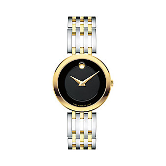Movado Esperanza Stainless Steel & Yellow Gold PVD Women's Watch