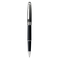 Montblanc_Meisterstuck_Solitaire_Doue_Black_&_White_Rollerball_Pen_