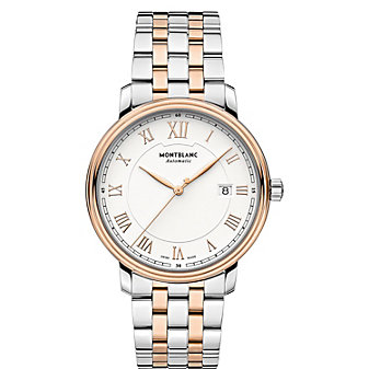 MontBlanc Tradition Date Automatic Two-Tone Men's Watch