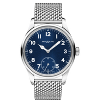 MontBlanc_1858_Manual_Small_Second_Mesh_Men's_Watch