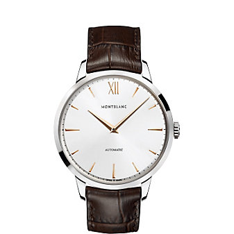 MontBlanc Heritage Spirit Automatic Brown Strap Men's Watch
