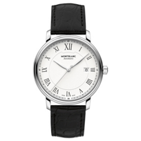 MontBlanc_Tradition_Date_Automatic_Black_Strap_Men's_Watch