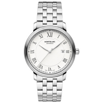 MontBlanc_Tradition_Date_Automatic_Link_Men's_Watch