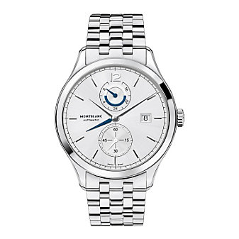 MontBlanc Heritage Chronometrie Dual Time Men's Watch