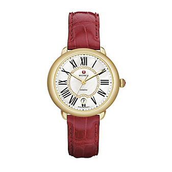 Michele Serein 16 Strap Watch