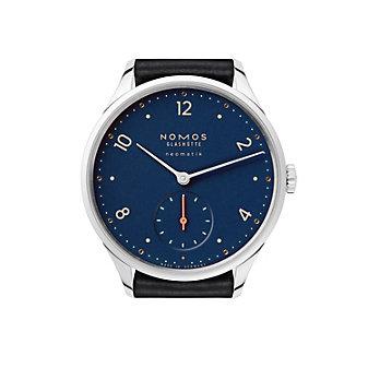 nomos glashutte minimatik nachtblau watch