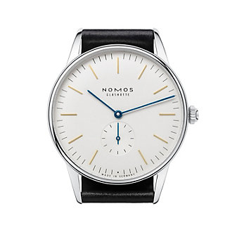 nomos glashutte orion 38 watch