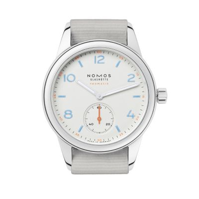 nomos glashutte club neomatik watch