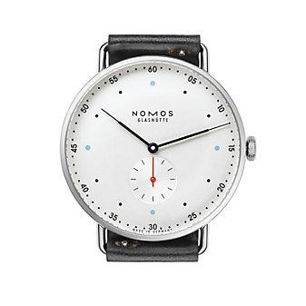 nomos glashutte metro 38 watch